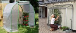Θερμοκήπια για τον ερασιτέχνη - οικιακή χρήση